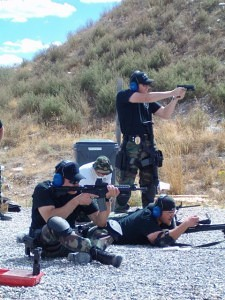 Action Target Conducts Firearms Training