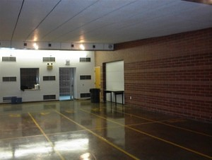 A lead-free indoor shooting range