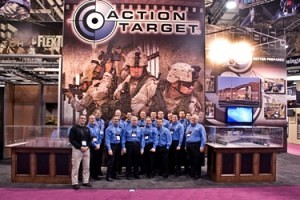 Action Target at Shot Show 2011