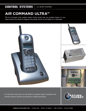 Air Command Ultra – cutsheet