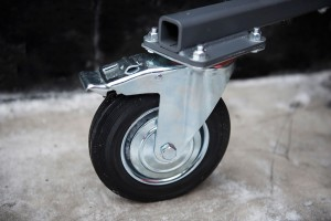Portable Trap All-Terrain Wheel