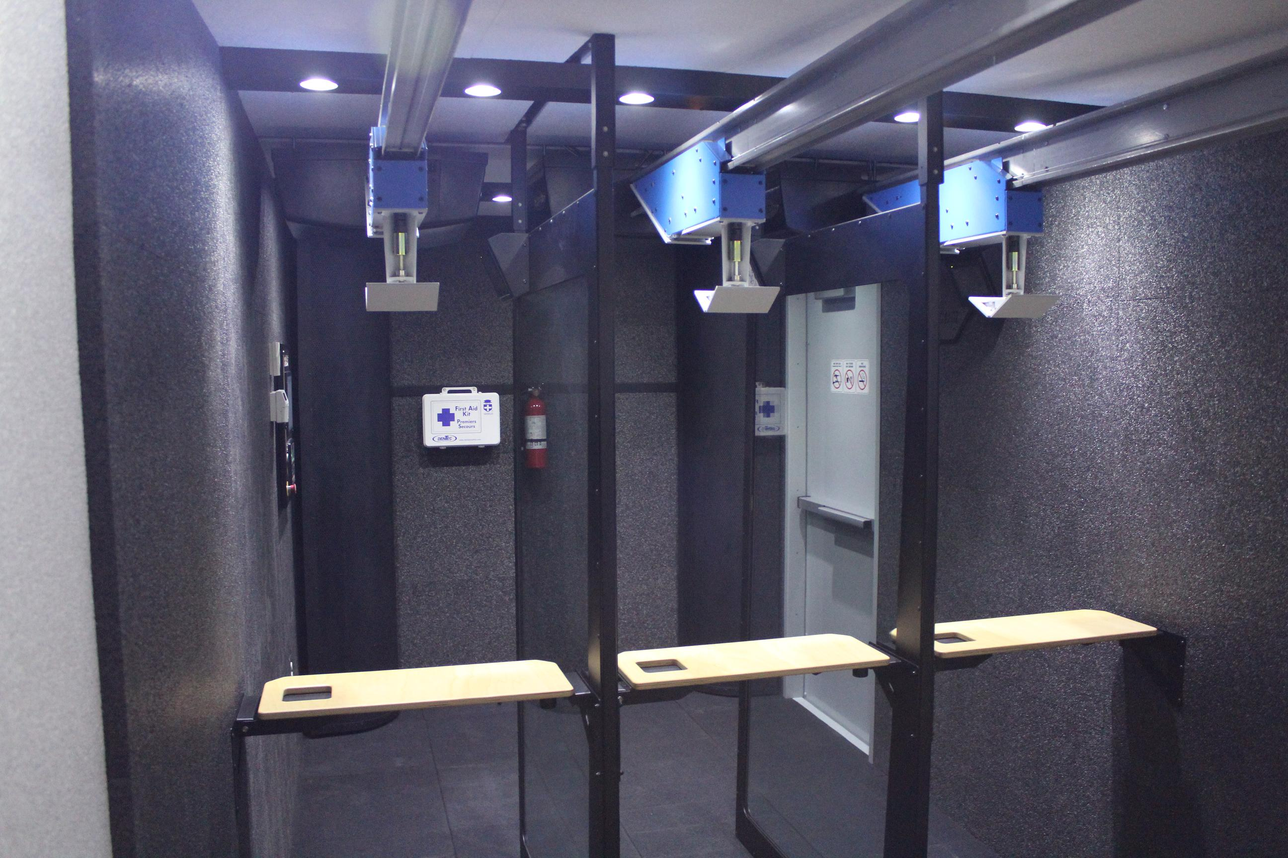 The Ventilation System Keeps Finalsm1 Shooters And Trainers Safe By Creating