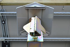 Fixed Turning Target Stand Action Target