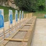 Target System for Outdoor Shooting Range