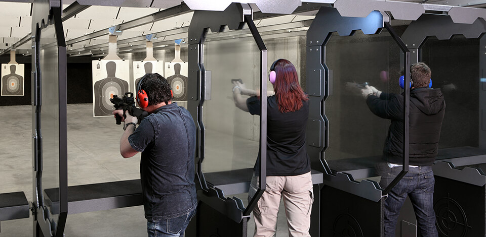 Commercial Indoor Shooting Range