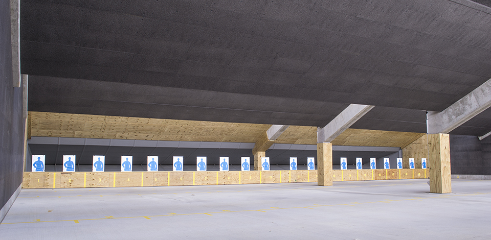 Tactical outdoor shooting range