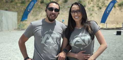The Gat Family | The Gatman + Charissa Littlejohn Training on Action Target Target Systems